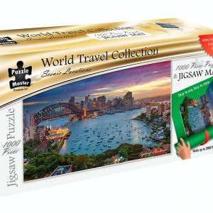 World Travel Collection - Jigsaw Mat + Sydney Harbour
