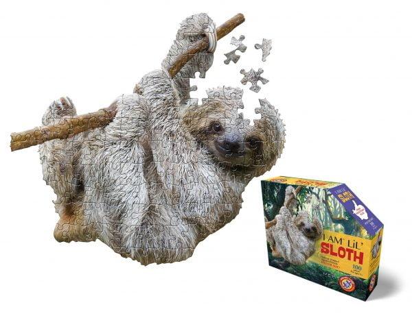I am Lil Sloth 100 Piece Puzzle