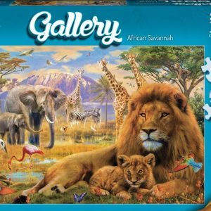 Gallery 5 - African Savannah 300 XL Piece Jigsaw Puzzle - Holdson
