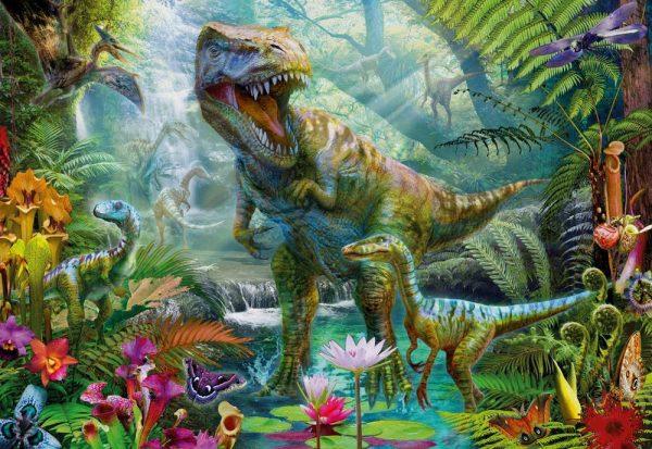 Gallery 5 - Dino Jungle 300 XL Piece Jigsaw Puzzle - Holdson