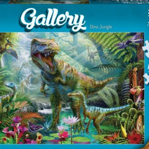 Gallery 5 - Dino Jungle 300 XL Piece Jigsaw Puzzle - Holdson