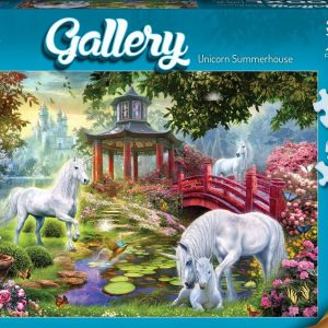 Gallery 5 - Unicorn Summerhouse 300 XL Piece Jigsaw Puzzle - Holdson