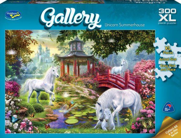 Gallery 5 - Unicorn Summerhouse 300 XL Piece Jigsaw Puzzle - Holdson