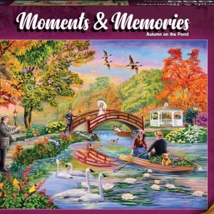 Moments & Memories - Autumn on the Pond 1000 Piece Jigsaw Puzzle - Holdson