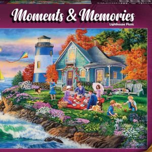 Moments & Memories - Lighthouse Picnic 1000 Piece Jigsaw Puzzle - Holdson