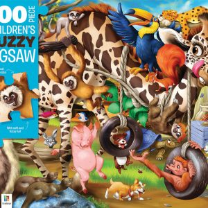 Animal Mayhem 100 Piece Children's Jigsaw Puzzle