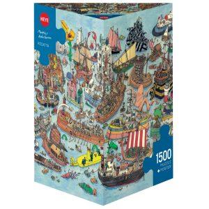 Adolfsson - Regatta 1500 Piece Jigsaw Puzzle - Heye