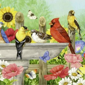 Bathing Birds 750 Large Piece Format Jigsaw Puzzle - Ravensburger