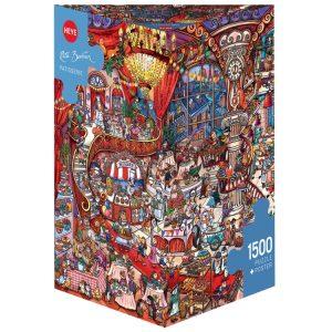 Berman - Patisserie 1500 Piece Jigsaw Puzzle - Heye