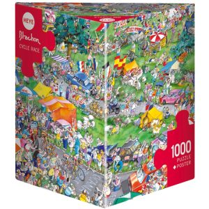 Blachon - Cycle Race 1000 Piece Jigsaw Puzzle - Heye