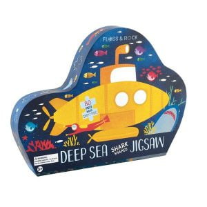 Deep Sea Shark Shaped Jigsaw Puzzle - Floss & Rock