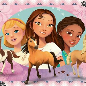 DreamWorks Spirit Riding Free - Adventure with Lucky 200 XXL Piece Jigsaw Puzzle - Ravensburger