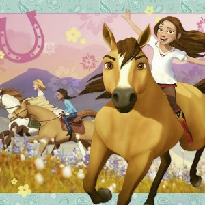 Dreamworks Spirit Riding Free - Wild & Free 150 Piece Jigsaw Puzzle - Ravensburger