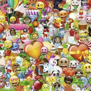 Emoji II 1000 Piece Jigsaw Puzzle - Ravensburger
