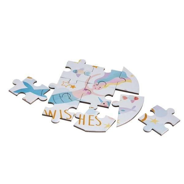 Fantasy 80 Piece 'Butterfly' Shaped Jigsaw Puzzle with Shaped Box - Floss & Rock