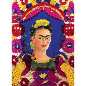 Frida Kahlo - Self Portrait - The Frame 1000 Piece Jigsaw Puzzle - Eurographics