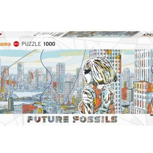 Future Fossils, Aquapolis Panoramic Jigsaw Puzzle 1000 Piece - Heye