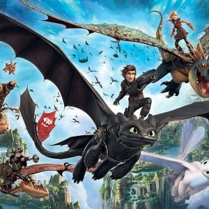 How to Train Your Dragon 3 - The Hidden World 100 Piece Jigsaw Puzzle - Ravensburger