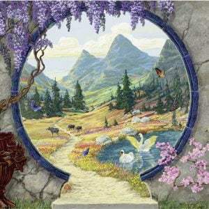 Into a New World 300 Large Piece Format Jigsaw Puzzle - Ravensburger