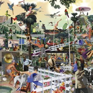 Life! Style! in the Hills 1000 Piece Jigsaw Puzzle - Heye