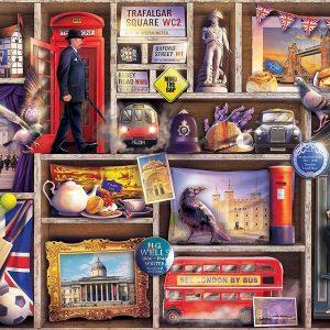 London Emporium 1000 Piece Jigsaw Puzzle - Ravensburger