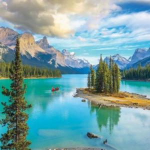 Maligne Lake Alberta 1000 Piece Jigsaw Puzzle - Eurographics