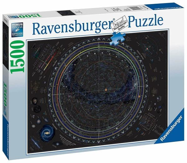 Map of the Universe 1500 Piece Jigsaw Puzzle - Ravensburger