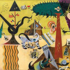 Miro - The Tilled Field 1000 Piece Jigsaw Puzzle - Eurographics