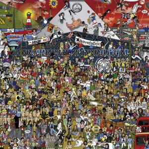 Mishmash, British Music History 2000 Piece Jigsaw Puzzle - Heye