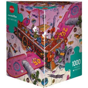 Mordillo - Fly with me 1000 Piece Jigsaw Puzzle - Heye