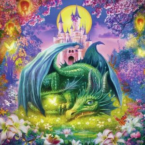 Mystical Dragon 300 XXL Piece Jigsaw Puzzle - Ravensburger