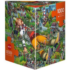 Oesterle - Gulliver 1000 Piece Jigsaw Puzzle - Heye