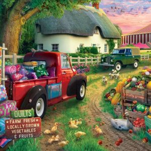 Pickups & Produce 500 XL Piece Jigsaw Puzzle - Holdson