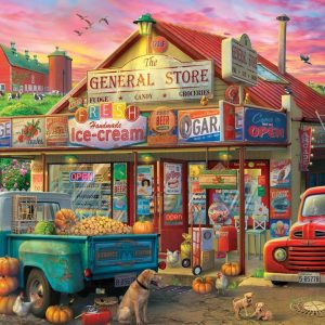 Pickups & Produce - General Store 500 XXL Piece Jigsaw Puzzle - Holdson