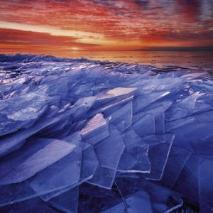 Power of Nature - Ice Layers 1000 Piece Jigsaw Puzzle - Heye