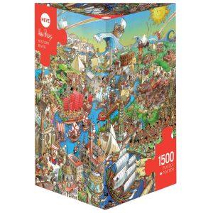 Prades - Hisory River 1500 Piece Jigsaw Puzzle - Heye