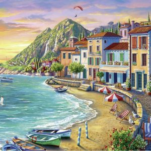 Romantic Sunset 750 Large Piece Format Jigsaw Puzzle - Ravensburger