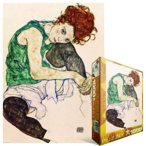 Schiele - Artist's Wife 1000 Piece Jigsaw Puzzle - Eurographics