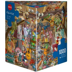 Tanck - In the Attic 1000 Piece Jigsaw Puzzle - Heye
