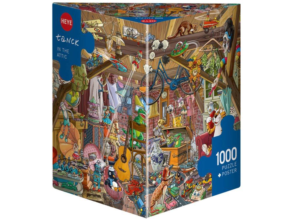 IN THE ATTIC Heye Puzzle 29885-1000 Pcs. BIRGIT TANCK