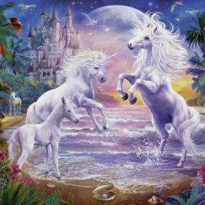 Unicorn Castle 300 XXL Piece Jigsaw Puzzle - Ravensburger