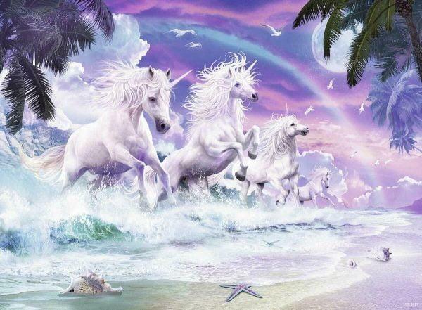 Unicorns on the Beach 150 Piece Jigsaw Puzzle - Ravensburger