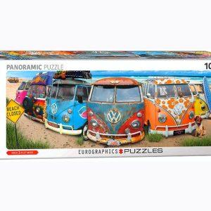 VW BUS KOMBINATION 1000 PIECE JIGSAW PUZZLE - EUROGRAPHICS