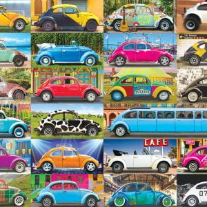 VW Beetle Gone Places 1000 Piece Jigsaw Puzzle - Eurographics