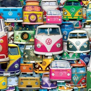 VW Bus Funky Jame 1000 Piece Jigsaw Puzzle - Eurographics