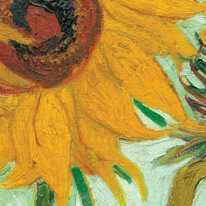 Van Gogh - Twelve Sunflowers (Detail) 1000 Piece Jigsaw Puzzle - Eurographics