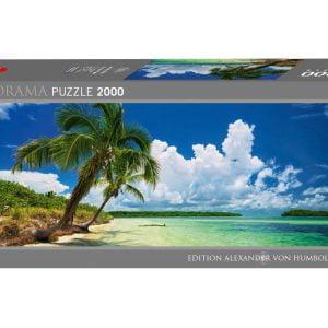 Von Humboldt - Paradise Palms Panorama 2000 Piece Puzzle - Heye