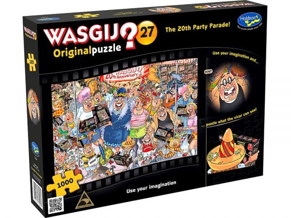Wasgij Original 27 - The 20th Party Parade 1000 Piece Jigsaw Puzzle - Holdson