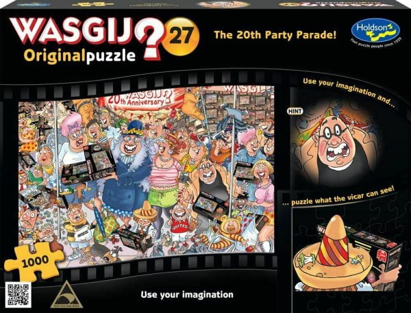 Wasgij Original 27 - The 20th Party Parade 1000 Piece jigsaw Puzzle
