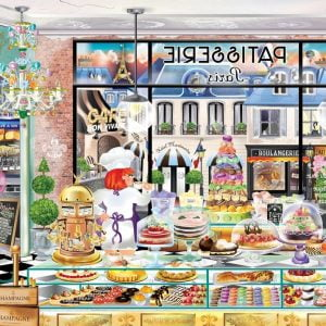 Windows to the World - Bonjour Paris 1000 Piece Jigsaw Puzzle - Holdson